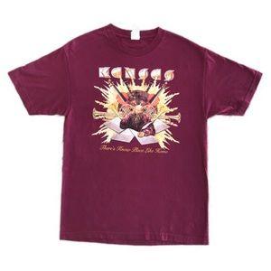 Kansas 35 years 1974-2009 t shirt